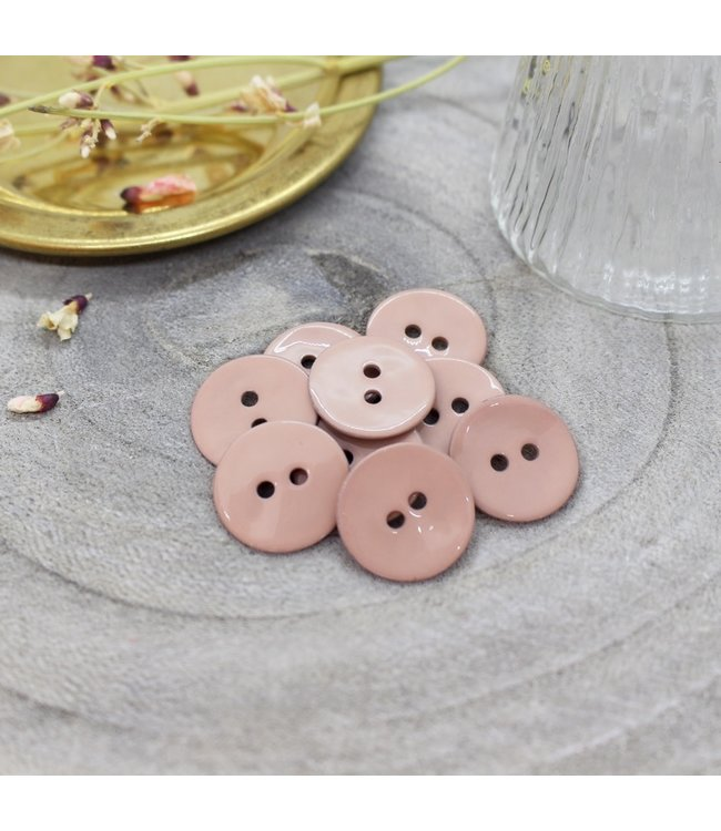 Glossy buttons maple 10mm