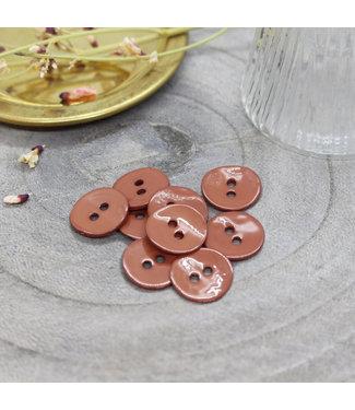 Atelier Brunette Glossy buttons chestnut 10mm