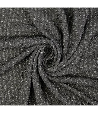 Black metallic - jacquard