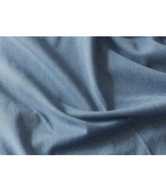Washed gabardine - indigo