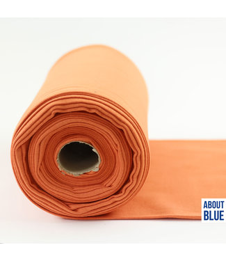 About Blue Fabrics Boordstof coral gold 10
