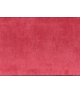Nicky velours - rood