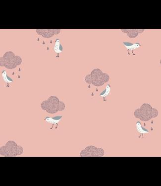 Katia Fabrics Birds in the rain - poplin