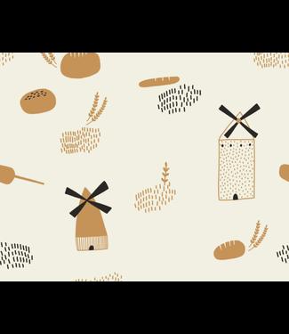 Katia Fabrics Bread origin - poplin