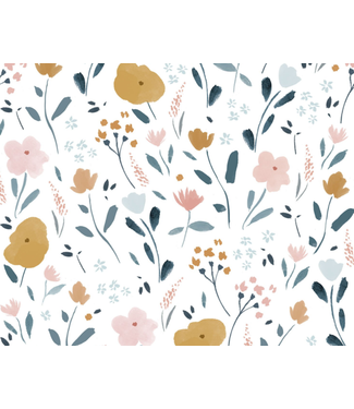 Katia Fabrics Little rat flowers - poplin