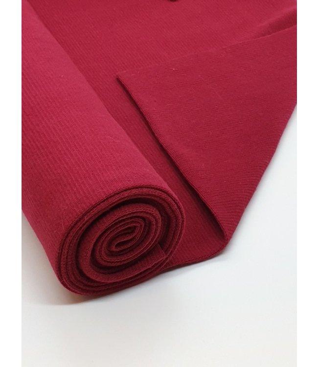 Boordstof - donker rood