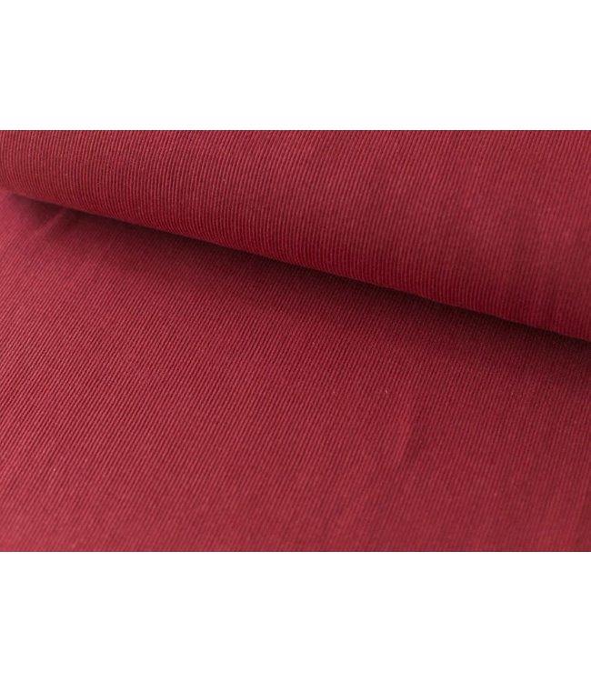 Boordstof Fibremood - donker rood