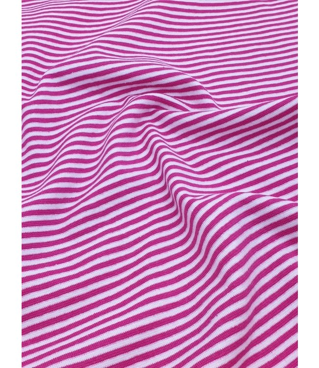 Boordstof strepen - roze