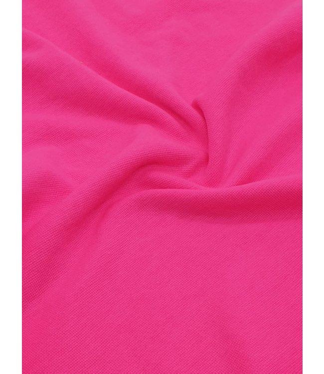 Boordstof - fluo roze