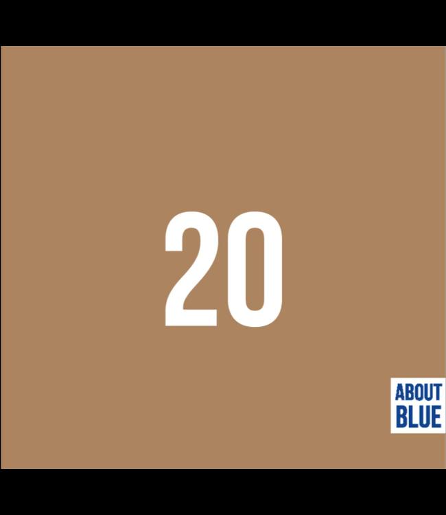 Boordstof - indian tan 20
