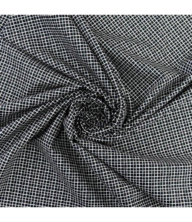 Mini vierkant - zwart