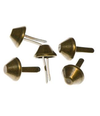 Tasvoetjes brons - 15 mm (4)