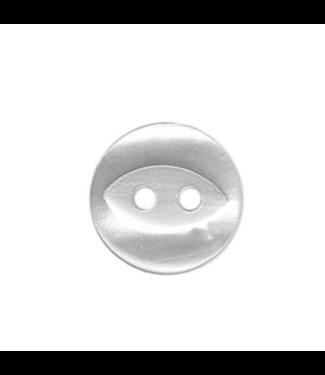 Hemdsknoop 11 mm - wit