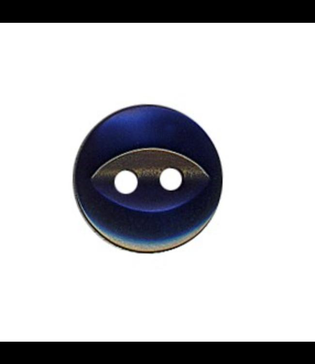 Hemdsknoop 11 mm - donker blauw