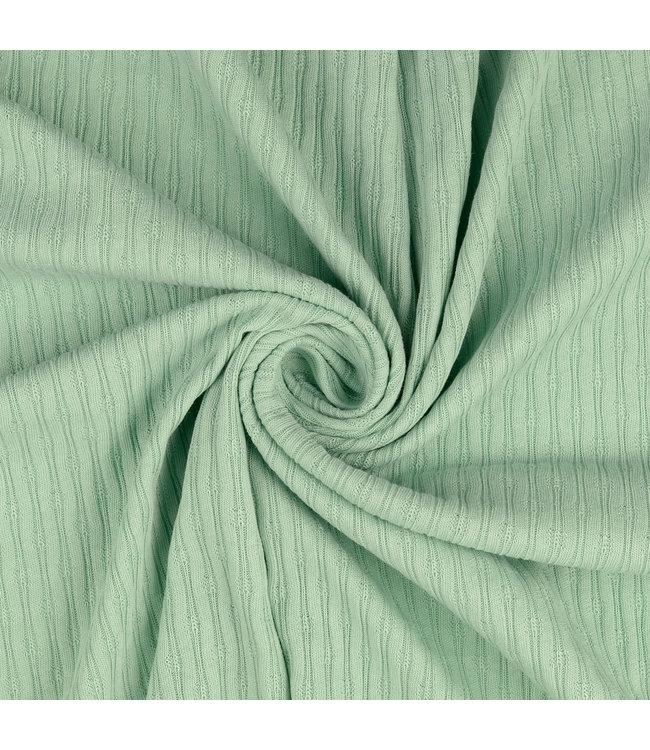 Tricot structuur - groen