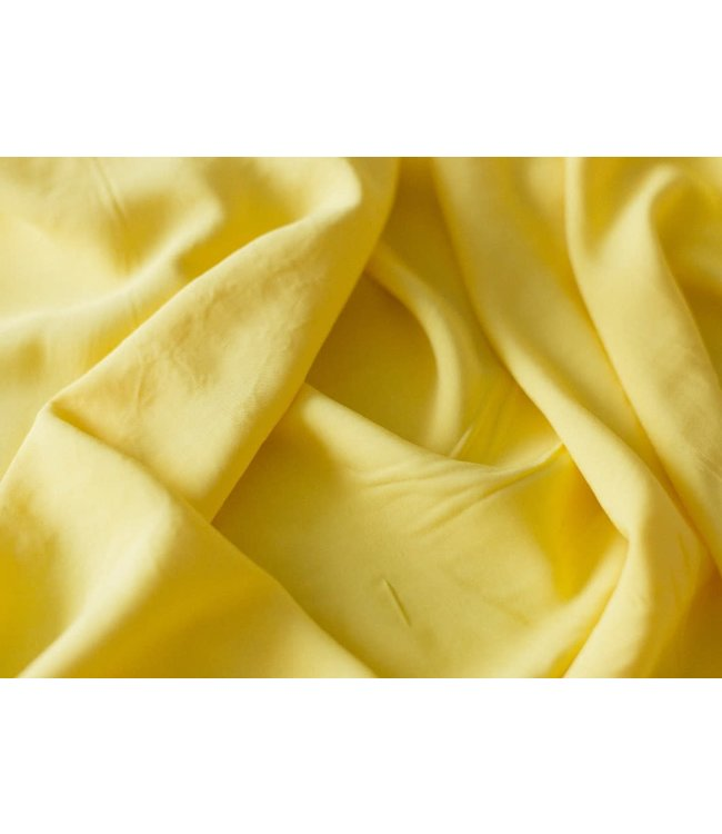 Viscose - zacht geel