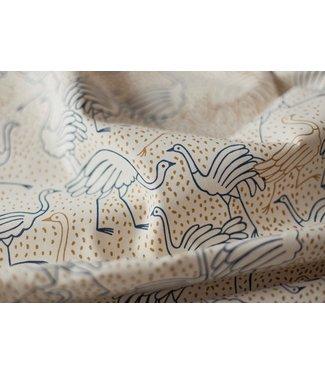 Katia Fabrics Canvas gold - ostrich