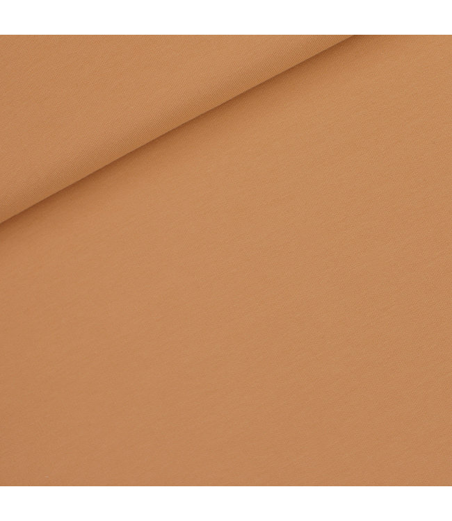 SYAS16 Fenegriek bruin - french terry (diagonals)