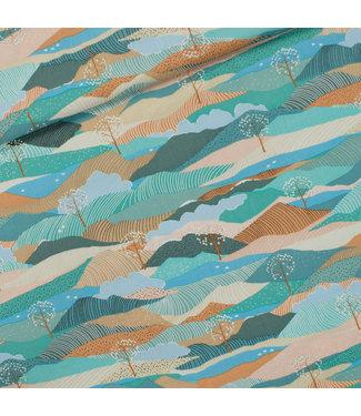 See You At Six SYAS16 Landscape - gabardine twill