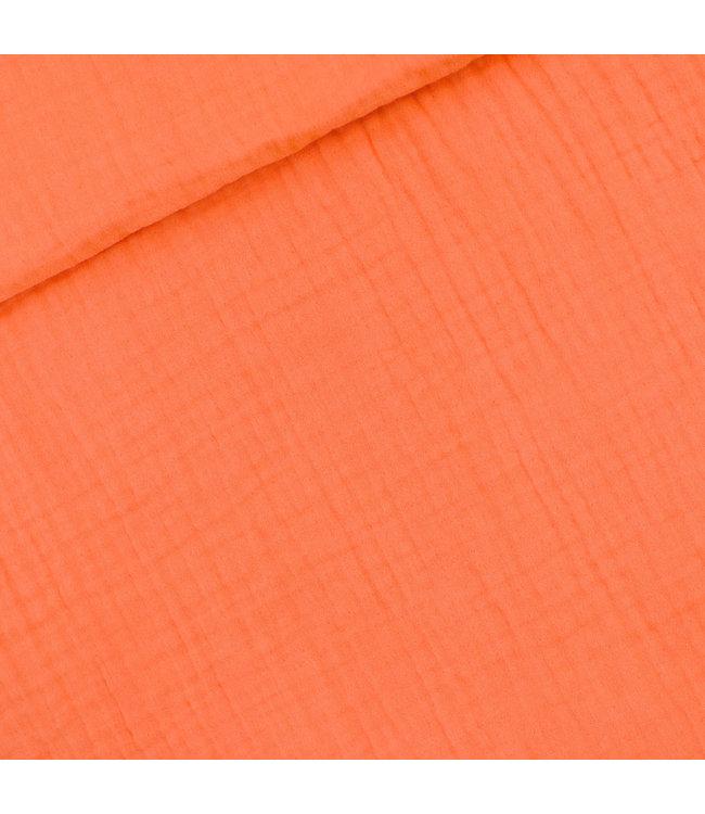 SYAS16 Persimmon oranje - double gauze