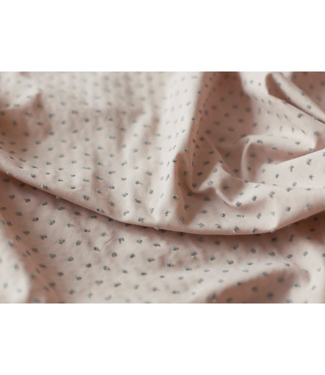 Katia Fabrics Plumeti pink green - katoen