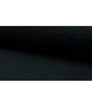 Badstof - zwart