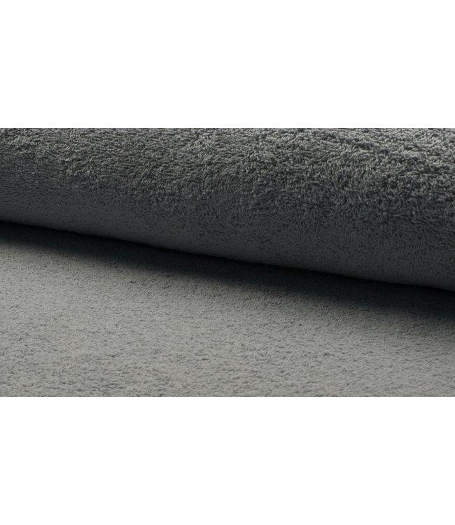 Badstof - zilvergrijs