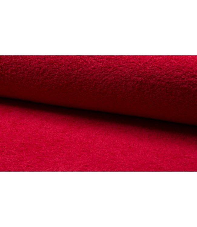 Badstof - rood