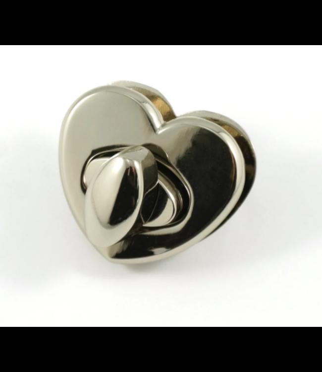 Draaisluiting hartvorm