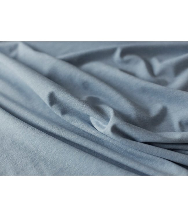 Melange tricot - blauw