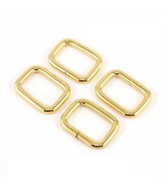 Passant goud (20-38mm)
