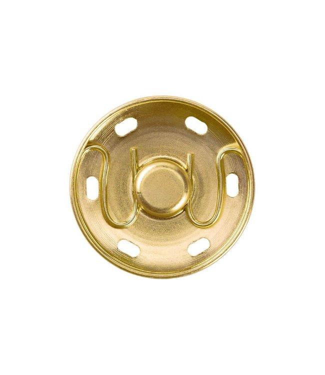 Drukknopen goud 30 mm