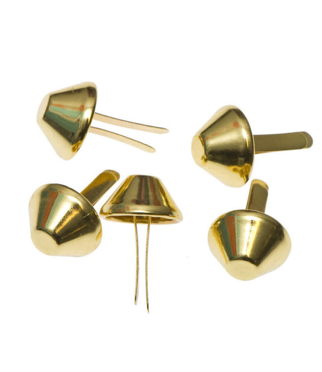 Tasvoetjes goud - 15 mm (4)