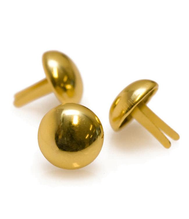 Tasvoetjes goud - 20 mm (4)