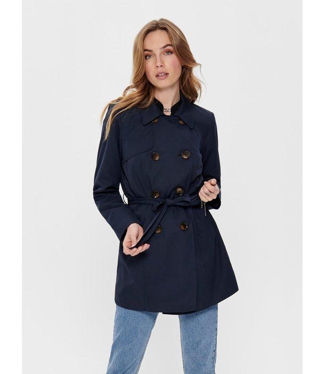 Trench coat - donkerblauw