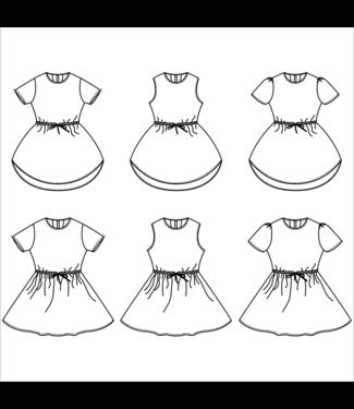Bel'Etoile Bel'etoile - Lotus jurk (80-164)