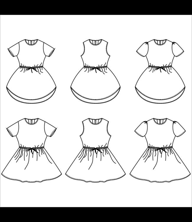 Bel'etoile - Lotus jurk (80-164)