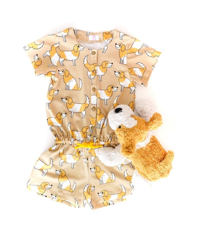 Eva Mouton Doggy beige - Tricot
