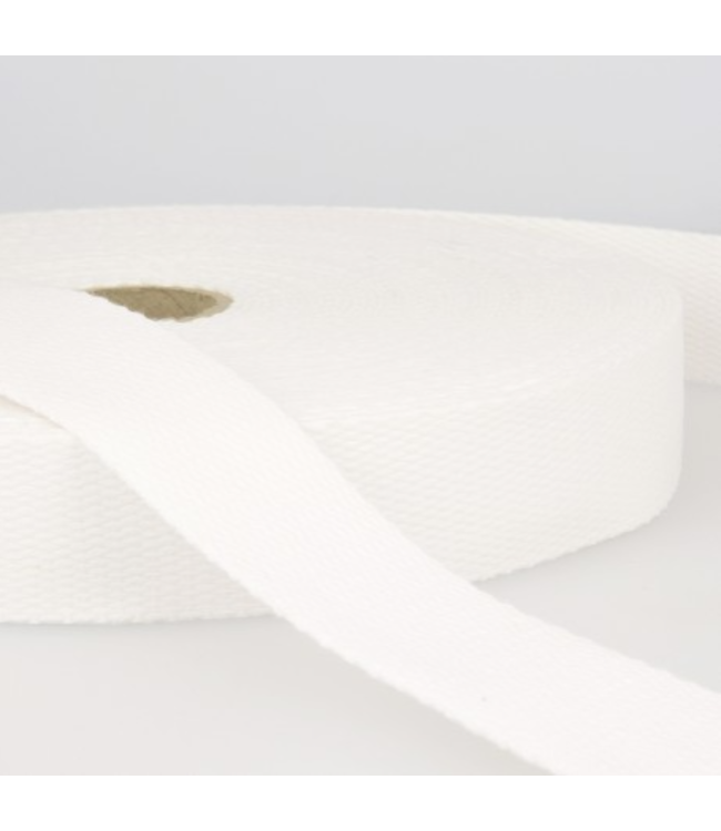 Tassenband wit S001