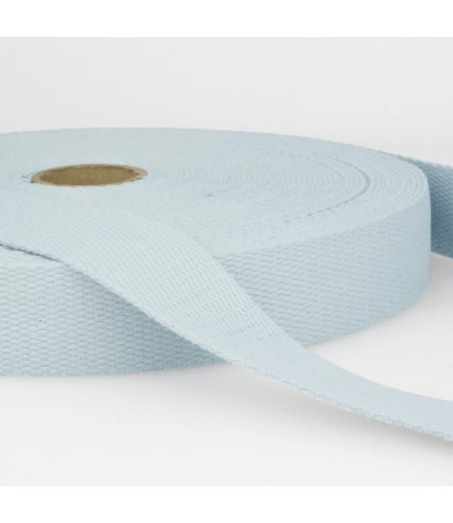 Tassenband zacht blauw S002