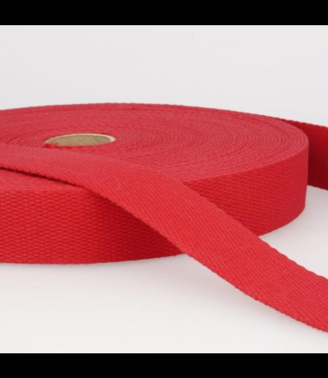 Tassenband rood S08