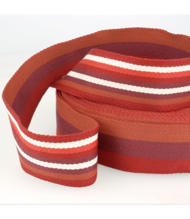 Tassenband doubleface - rood