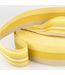 Tassenband doubleface - geel