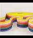 Tassenband lijnen - regenboog