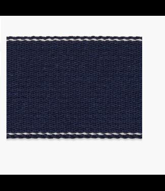 Tassenband linnenlook - donker blauw