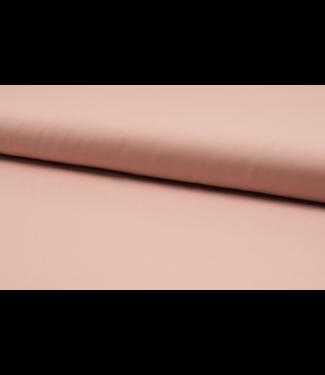 Katoen poplin - licht zalm