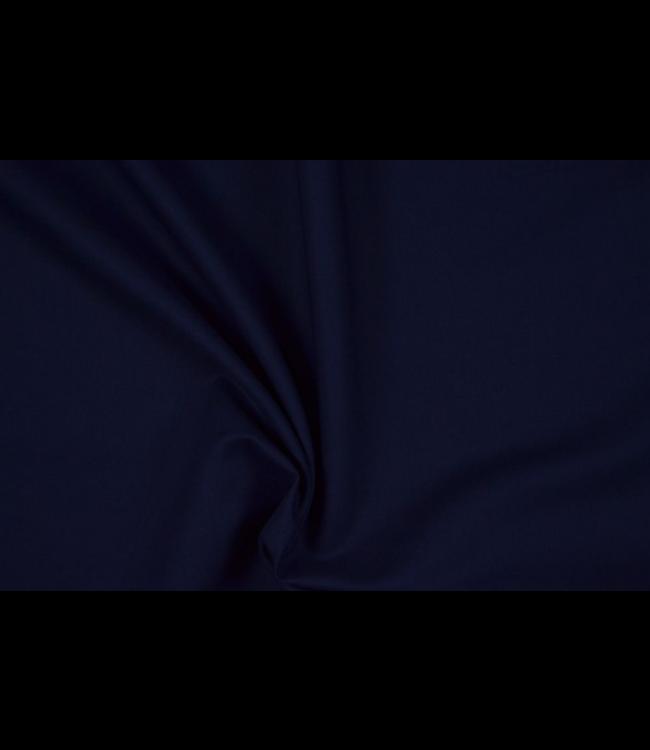 Keperkatoen - donker blauw