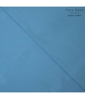 Fibremood Poplin - adriatisch blauw