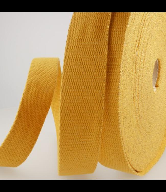 Tassenband oker - goud