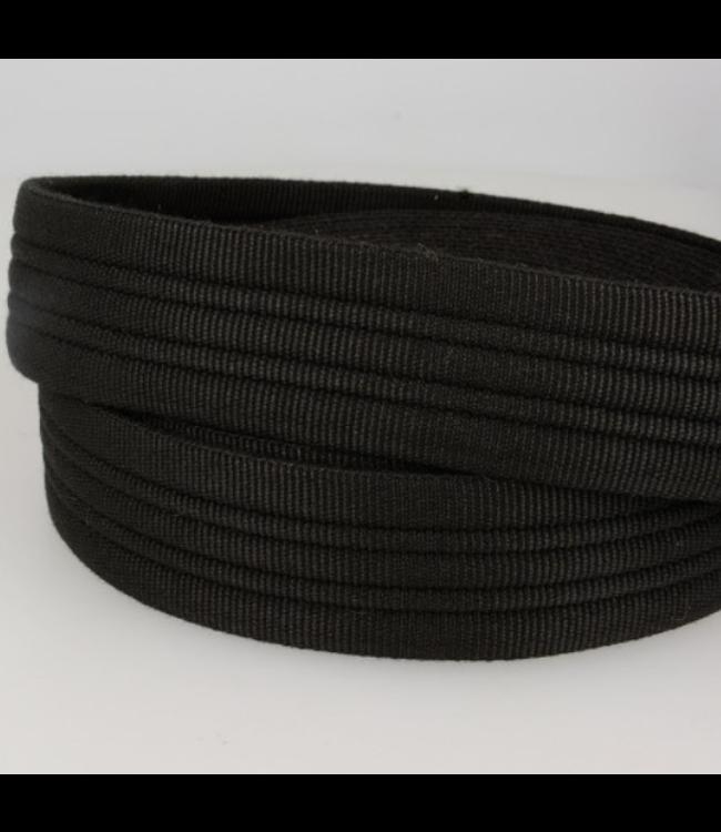 Tassenband stevig - zwart